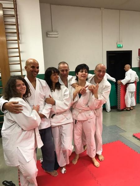 Gruppo della sezione di Aikido Lecco